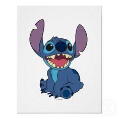 Lilo & Stitch Stitch excited Print by disney