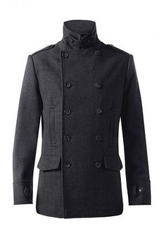 Pea coat men Navy pea coat and Us navy on Pinterest