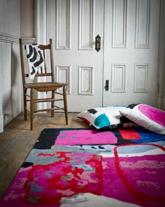 rug and textile design by heather chontos