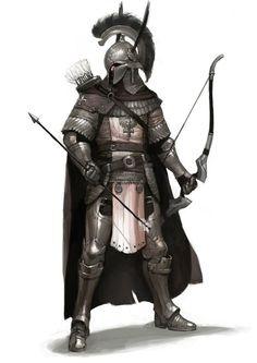 Commander of the archer legion,
