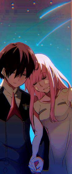 Darling in the FranXX Manga Anime, Fanarts Anime, Anime Demon, Kawaii Anime Girl, Anime Art Girl, Ghost Rider Marvel, Zero Two, Animes Wallpapers, Wallpaper Wallpapers