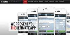 Rocking Parallax iPhone App Showcase - ThemeForest Item for Sale