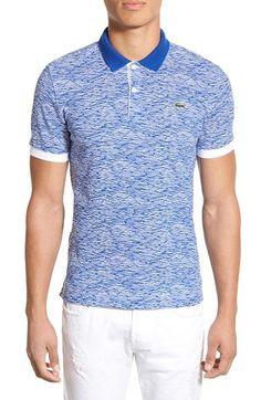 Lacoste Short Sleeve Polo Shirt (Men)