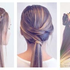 3 Cute & Easy Braided Hairdos for Summer