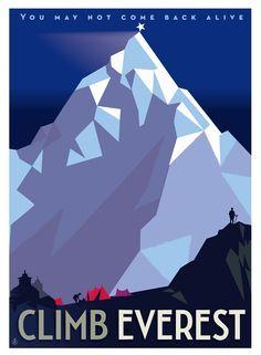 Climb Everest ~ Monsieur Z.