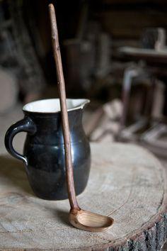 driftwood  ladle