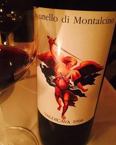 1998 Valdicava Brunello di Montalcino. 🎵...a little less conversation, a little more action...🎶 #valdicava #brunello #brunellodimontalcino