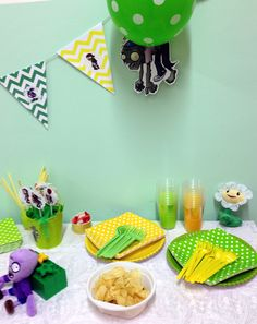 Plants va zombies diy party #plantsvszombies #party