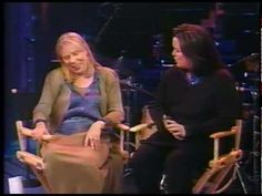Joni Mitchell with Rosie O'Donnell, it will make you smile : )
