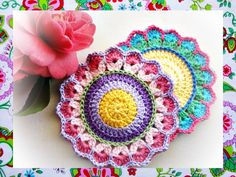 Spring Circles Crochet Pattern