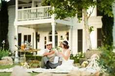 Gatsby inspired wedding photo shoot.    Photo:  Mike Larson, Private Estate & Vineyard Wedding Photographer
