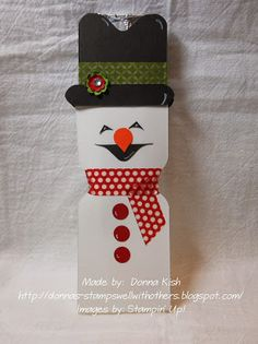 Stamps Well With Others: Snowmen
