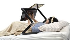 Super Gorone Desk, A Stand Designed For Working on a Laptop While Lying Down in Bed (And More)