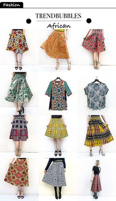 Next Fashion trend: African style skirts | Trendbubbles.nl
