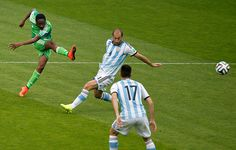 But Ahmed Musa draws Nigeria within sixty seconds during a swift breakaway move ...
