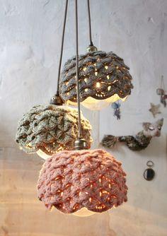 pendants. found via the French design blog Desaccord