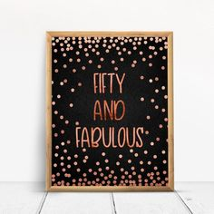 70 and fabulous, Happy Birthday, Cheers to 70 Years, Anniversary Sign, Confetti Rose Gold Happy 80th Birthday, Birthday Cheers, Gold Birthday Party, Happy 40th, Birthday Signs, 50th Birthday Party Decorations, Gold Party Decorations, Anniversary Gifts For Parents, 70th Anniversary