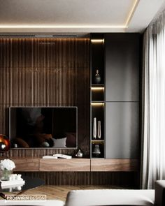 Salon trendy living room interior design modern grey How To Care For A Hardwood Floo Best Interior, Room Interior, Interior Design Living Room, Living Room Designs, Luxury Interior, Bedroom Tv Unit Design, Bedroom Designs, Interior Ideas, Modern Apartment Design
