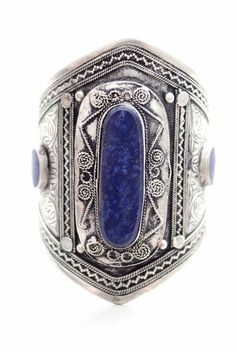 Lapis Ara Cuff reminds me of the Doctor for some reason I Love Jewelry, Jewelry Box, Jewelery, Silver Jewelry, Jewelry Accessories, Silver Cuff, Jewelry Ideas, Hippy Chic, Turquoise