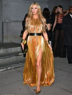 Check out my leg:Paris Hilton has been in the fame game for 20 years. But the 35-year-old socialite turned reality star turned DJ still has a few tricks up her sleeve
