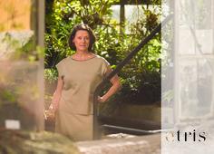 "etris Sommermodelle: Deux-Pièces ""akanjo"" @etris.ch High Neck Dress, Dresses, Fashion, Two Pieces, Products, Turtleneck Dress, Vestidos, Moda, Fashion Styles"