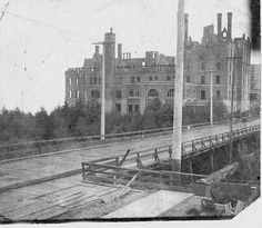 neat picture -Tourist Hotel being rebuilt as Stadium High School Tacoma Washington, Washington State, Gaston Bachelard, Historical Pictures, Pacific Northwest, Old Town, Seattle, High School, Stay High