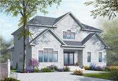 Looking for a stylish House Plan with a Mother In Law Apartment? Why not check out this charmer, DD-3041? With 5 bedrooms and 3.5 baths, you're sure to have enough room for everyone. Check it out!