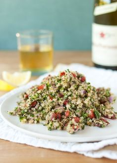 Recipe: Quinoa Tabbouleh — Side Dish Recipes from The Kitchn | The Kitchn