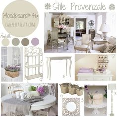 My moodboard on wednesday  – Stile provenzale. Country style