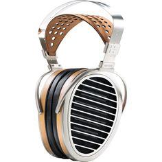 HiFiMAN HE1000 V2 On-Ear Headphones   Brown/Silver