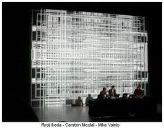 Ryoji Ikeda - Carsten Nicolaï - Mika Vainio || Concerts | EtherREAL