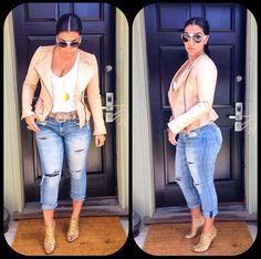 Asa snaps in OOTD attire...