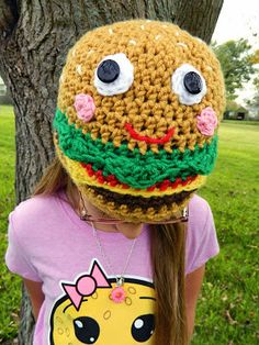 Happy The Cheeseburger Hat