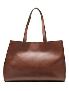 Larkin Tote - Banana Republic.  $168.  Like the look, hate that the top is open with no zipper or closer.