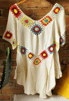 Crochet Fabric, Crochet Poncho, Crochet Cardigan, Knit Crochet, Bare Foot Sandals, Blouse Patterns, Crochet Fashion, Handmade Clothes, Crochet Clothes