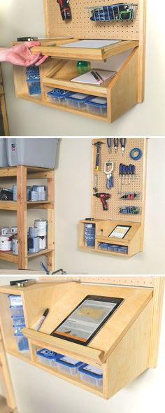 DIY Garage Storage- CLICK THE IMAGE for Various Garage Storage Ideas. 98789798 #garage #garagestorage