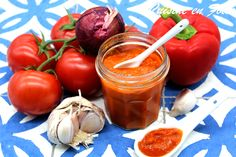 Sauces, C'est Bon, Stuffed Peppers, Vegetables, Food, Savory Snacks, Kitchen, Homemade Ketchup, Bell Pepper
