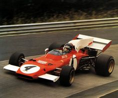 Jacky Ickx, Ferrari Nürburgring The Belgian enjoyed a Clark-like weekend; he qualified fastest and led from flag to flag. This was his final GP victory. Indy Car Racing, Ferrari Racing, Ferrari F1, Indy Cars, Road Racing, Sport Cars, Race Cars, Clay Regazzoni, Ferrari Scuderia