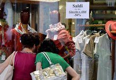 Informazione Contro!: Al via corsa saldi, spesa media 100 euro a testa.....