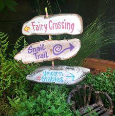 For the fairy garden