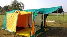 Namiot rodzinny Bielsko 4m - SUPER STAN - JAKOŚĆ- POLSKI - 2 sypialnie Ciechanów - image 1