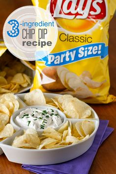 3-Ingredient Chip Di