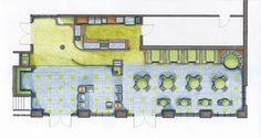 starbucks floor plan | Ballerinas & Accountants Can Be Interior Designers Too: Coffee Shop ...