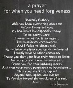 How to forgive yourself catholic