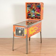 """Sinbad"" arcade pinball machine by Gottlieb & Co. : Lot 2448"