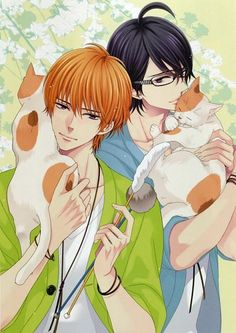 Natsume & Azusa (Brothers Conflict)