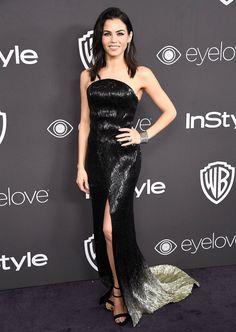 Golden Globes 2017: Best Afterparty Dresses - Jenna Dewan Tatum in Julien Macdonald