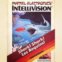 WEBSTA @favoritevideogamessince71 Shark! Shark! (1982 Intellivision). The player is a fish who must eat smaller fish in order to gain points and extra lives while avoiding enemies such as larger fish, sharks, jellyfish, lobsters and crabs. After eating a certain number of fish, the player's fish grows in size and is thus able to eat a larger selection of fish. However, while the larger fish becomes a bit faster, he is less agile than the small fish and has a harder time avoiding enemies.