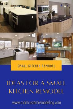 If you are sustaining a thought about a small kitchen remodel, appoint a reliable contractor. But before that, take a look at a few excellent ideas that work best for remodeling a small kitchen. Kitchen Remodeling, Ideas, Thoughts, Kitchen Renovations, Kitchen Remodel