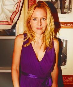 "somuchmorethanthis: "" 100 ways she ruins my life » Gillian Anderson (47 of 100) """
